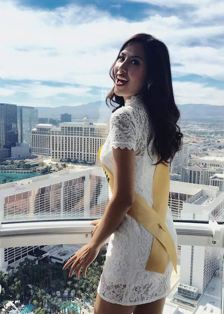 Anh bikini nong bong cua Nguyen Thi Loan tai Miss Grand International - Anh 10
