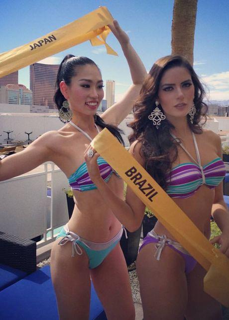 Anh bikini nong bong cua Nguyen Thi Loan tai Miss Grand International - Anh 8