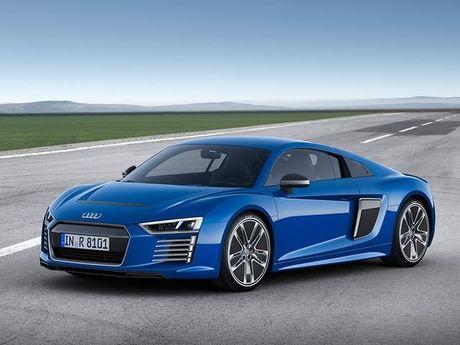 Audi khai tu sieu xe chay bang dien R8 e-tron - Anh 1