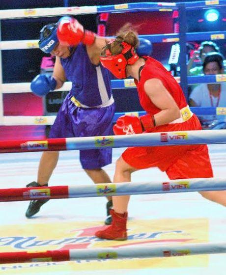 Man so gang nay lua cua cac hotgirl lang Boxing Viet - Anh 9