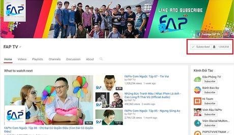 Nhom hai FAP TV dat nut Play ma vang tren YouTube - Anh 2