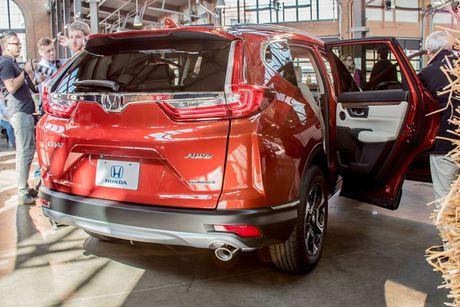 Honda CR-V 2017 thay doi nho ben ngoai, thay doi lon ben trong - Anh 1