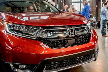 Honda CR-V 2017 thay doi nho ben ngoai, thay doi lon ben trong - Anh 2