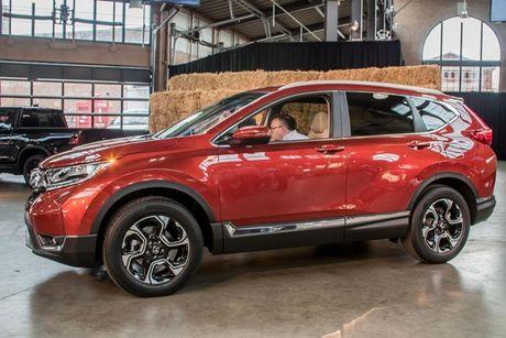 Honda CR-V 2017 thay doi nho ben ngoai, thay doi lon ben trong - Anh 3