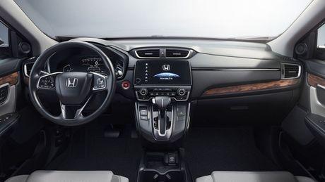Honda CR-V 2017 thay doi nho ben ngoai, thay doi lon ben trong - Anh 4