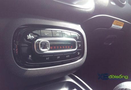 Can canh xe choi Smart fortwo 2016 tien ty dau tien tai Viet Nam - Anh 14