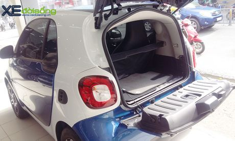 Can canh xe choi Smart fortwo 2016 tien ty dau tien tai Viet Nam - Anh 15