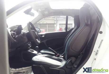 Can canh xe choi Smart fortwo 2016 tien ty dau tien tai Viet Nam - Anh 8