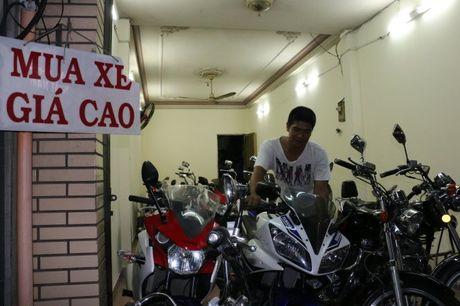 Pho xe may cu o nga tu Phu Nhuan - Anh 1
