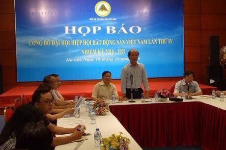 Dai hoi Hiep hoi Bat dong san Viet Nam - Anh 1