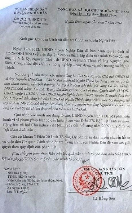 Nguyen chu tich xa va can bo dia chinh tham o hon 140 trieu dong - Anh 2