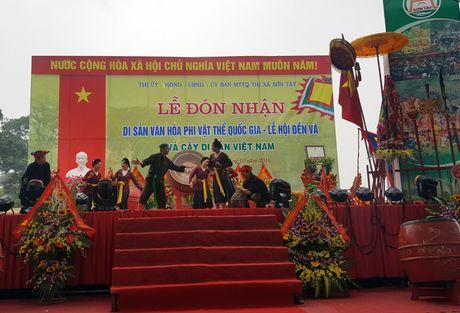 Le hoi Den Va don Bang cong nhan san van hoa phi vat the quoc gia - Anh 1
