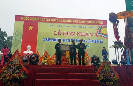 Le hoi Den Va don Bang cong nhan san van hoa phi vat the quoc gia - Anh 2