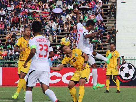 Cau thu Leicester khong ghi ban nhung Brunei thang - Anh 2