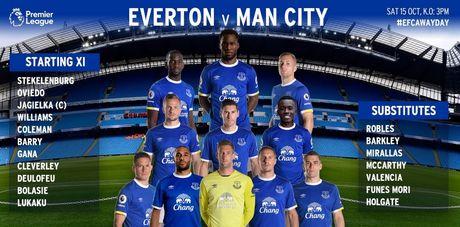 Man City vs Everton (0-0, H1): Chu nha choi lan luot - Anh 8
