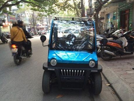 Thanh Hoa: Manh tay xu ly xe o to dien chay khong phep - Anh 1