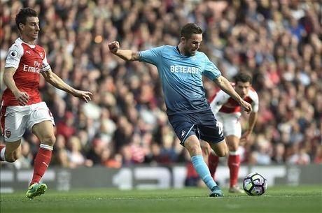 TRUC TIEP vong 8 Premier League: Arsenal 2-1 Swansea. De Bruyne da hong 11m (Hiep 2) - Anh 6