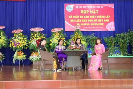 Phu nu Cu Chi: Hop mat 86 nam ngay thanh lap Hoi Lien hiep Phu nu Viet Nam - Anh 2