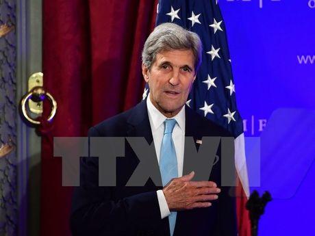 Ngoai truong My Kerry: Luc luong Houthi tha 2 cong dan My - Anh 1