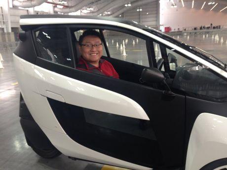 Toyota i-Road - mau xe cho 'giai phap di dong do thi' tuong lai - Anh 10