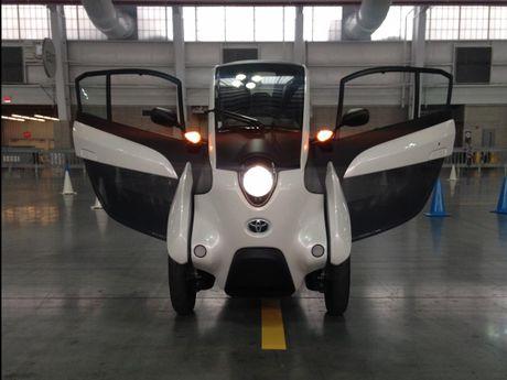 Toyota i-Road - mau xe cho 'giai phap di dong do thi' tuong lai - Anh 2