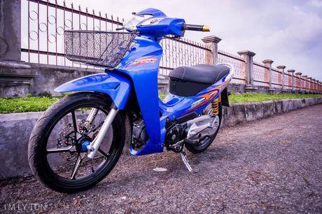 Honda Wave 125 do 'dan chan khung' tai Viet Nam - Anh 1