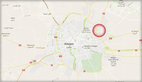 Quan doi Syria cat tuyen duong tiep te cua khung bo o Aleppo - Anh 2