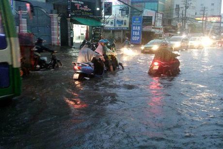 """Mua don, trieu cuong dap, hang ngan xe TP HCM """"khoc rong"""" - Anh 5"""
