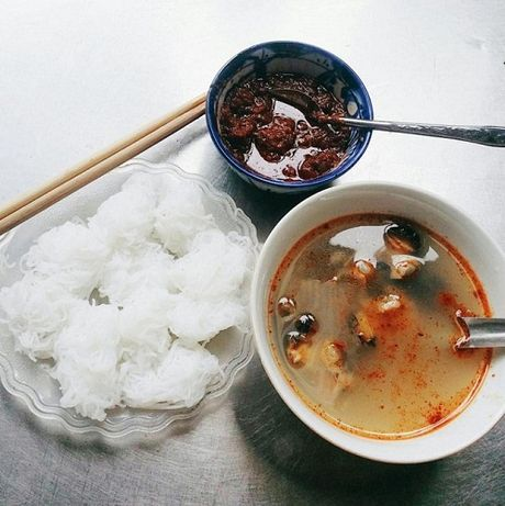 5 hang bun oc luon dong khach o Ha Noi - Anh 4