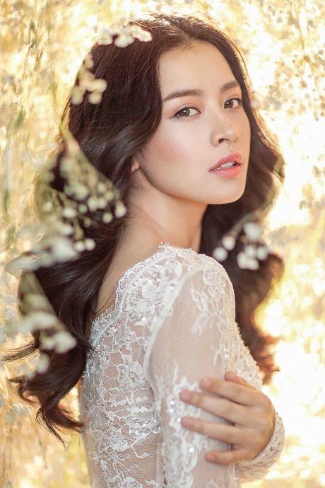 Hot girl Viet dien vay cuoi xinh dep du chua muon lay chong - Anh 1