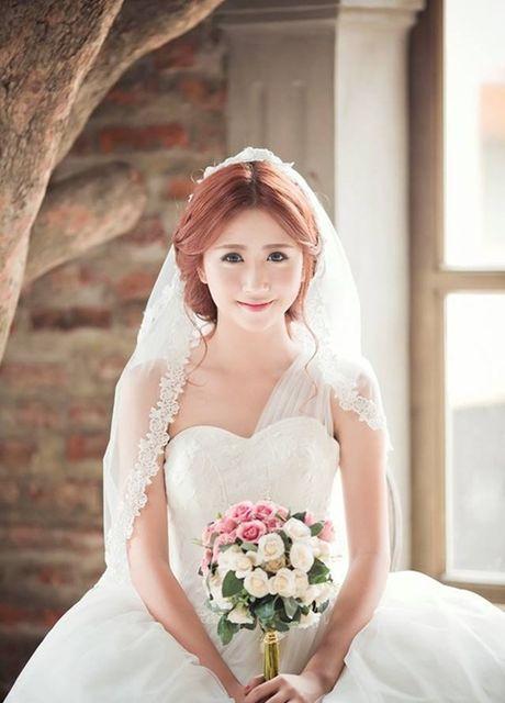 Hot girl Viet dien vay cuoi xinh dep du chua muon lay chong - Anh 8