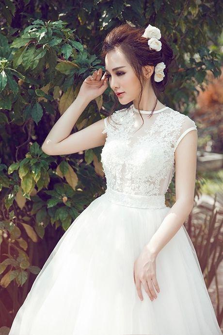 Hot girl Viet dien vay cuoi xinh dep du chua muon lay chong - Anh 9
