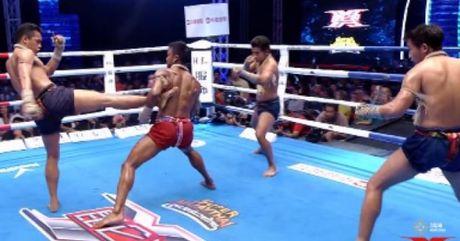 """Hoang tu Muay Thai"" 1 minh ha guc 3 doi thu - Anh 1"