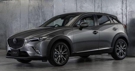 Mazda CX-3 vua chinh thuc lo dien co gi moi? - Anh 1