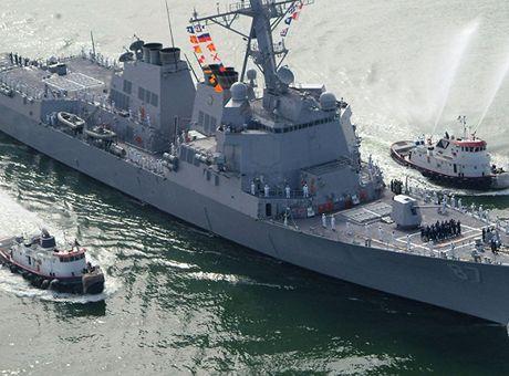 Tau USS Mason cua My lai bi tan cong bang ten lua tu bo bien Yemen - Anh 1