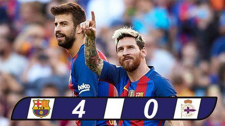 Messi ghi ban ngay tai xuat, Barca vui dap Deportivo - Anh 1