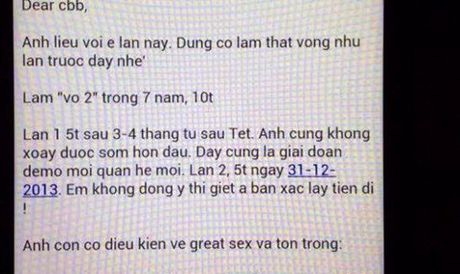 """Vu Hoa hau Phuong Nga: """"Dai gia"""" Cao Toan My de nghi xu ly nguoi dung hinh anh """"hop dong tinh ai"""" - Anh 1"""