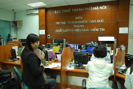 Cuc thue Ha Noi cong bo danh sach no thue dot 10 - Anh 1
