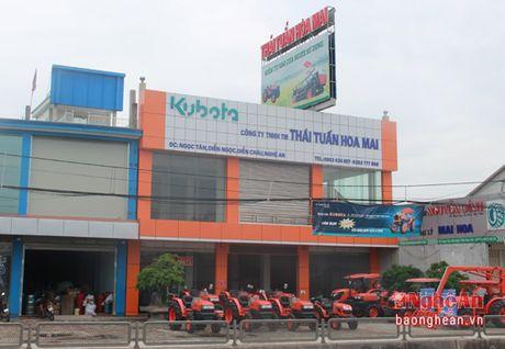 Thai Tuan Hoa Mai: Don vi cung ung may nong nghiep, xe co gioi hang dau Nghe An - Anh 1