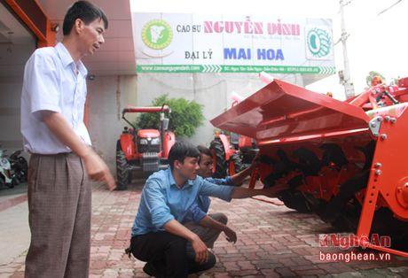 Thai Tuan Hoa Mai: Don vi cung ung may nong nghiep, xe co gioi hang dau Nghe An - Anh 4