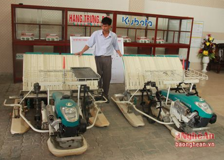 Thai Tuan Hoa Mai: Don vi cung ung may nong nghiep, xe co gioi hang dau Nghe An - Anh 7