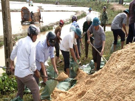 Quang Binh: Vo de do mua lon keo dai - Anh 1