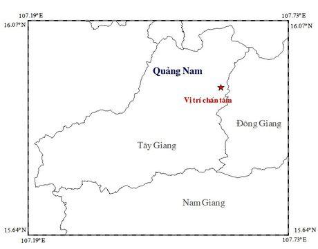 Dong dat lien tiep tren 3 do Richter o mien nui Quang Nam - Anh 1