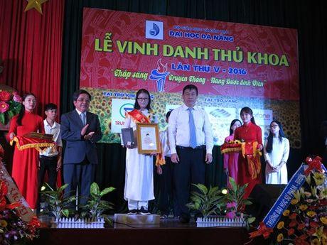 DH Da Nang vinh danh tan thu khoa - Anh 1