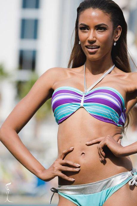 Nong bong phan thi bikini cua Nguyen Thi Loan tai 'Hoa hau Hoa binh The gioi' - Anh 12