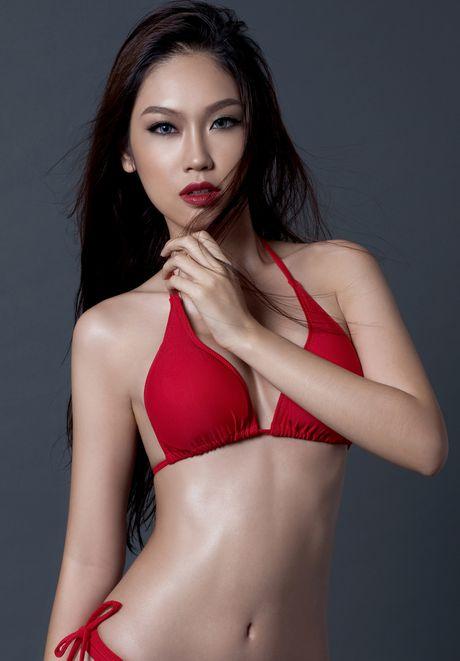 A khoi Phuong Linh cuon hut voi bikini - Anh 3