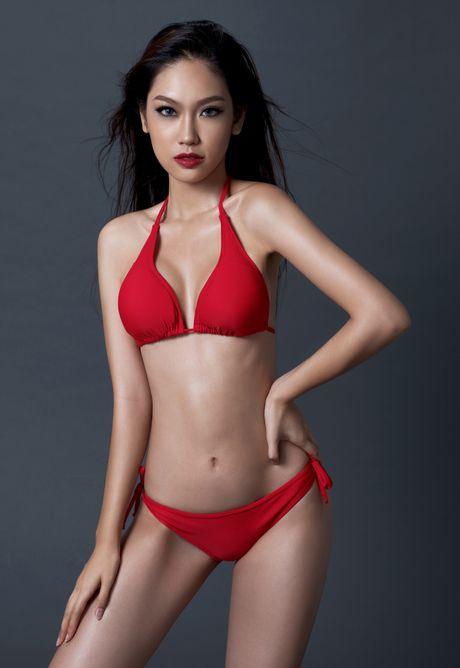 A khoi Phuong Linh cuon hut voi bikini - Anh 5