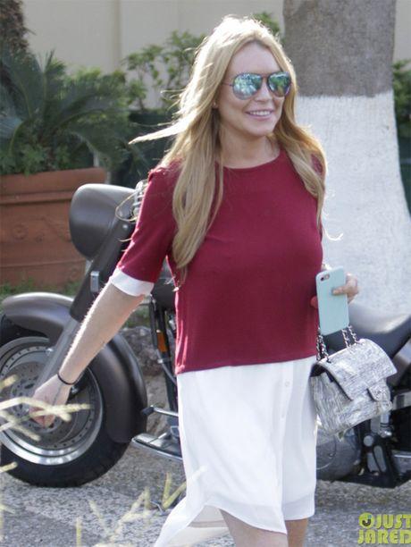 Lindsay Lohan tuoi tan sau binh luan tuc tiu cua Trump - Anh 2
