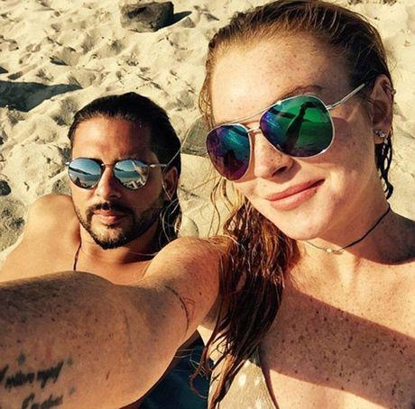 Lindsay Lohan tuoi tan sau binh luan tuc tiu cua Trump - Anh 5