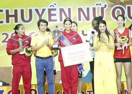 Ngam ve dep Hoa khoi bong chuyen VTV Cup 2016 - Anh 2